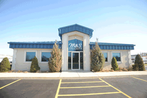 Image: Home Page, M&S Collision Centers
